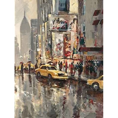 Brent Heighton by Urban Scene-Stampa su tela,