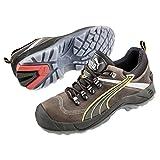 Puma Safety Shoes Condor Low S3 SRC, Puma 640541-204 Unisex-Erwachsene Espadrille Halbschuhe, Braun (braun/schwarz 204), EU 46