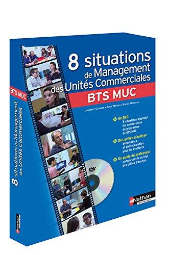 Coffret 8 situations de Management des Unités Commerciales par Laurence Garnier