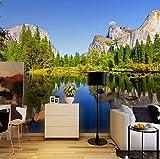 3D Poster Fototapete Blauer Himmel Szenische Landschaft Invertiert Bild Wohnzimmer Hintergrund Fotografie Wandbild Malerei, 430X300 Cm (169,29X118,11 In)