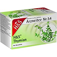 H&S Thymian Filterbeutel 20 St preisvergleich bei billige-tabletten.eu