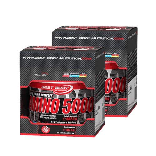 Best Body Nutrition Amino 5000 ( 2 x 325 Tabletten = 650 Tabletten )