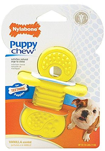 Interpet 982330 Nylabone - Welpen-Kauspielzeug aus dem Rhino-Sortiment, klein -