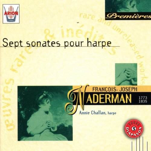 Naderman : Sept sonates pour harpe