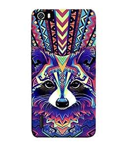 FUSON Designer Back Case Cover for Huawei Honor 6 (Dog Cat Kitten Whisker Puppy Triangle Rectangle)
