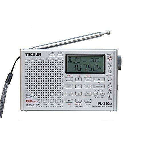 TECSUN PL-310ET Radio Digital PLL Portable Radio FM