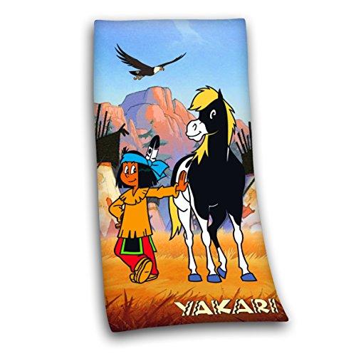Herding 614517516 Velourstuch Yakari, 75 x 150 cm