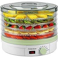 Beper Deshidratador de frutas 90.506 blanco, Temperatura Ajustable 245W