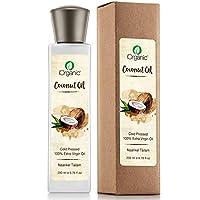 iOrganic Cold Pressed Virgin Coconut Oil, 200ml