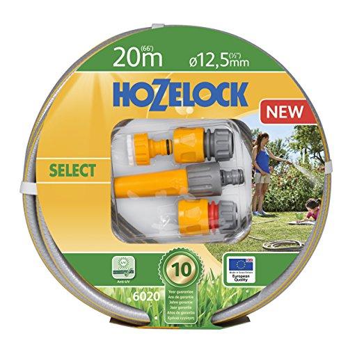 Hozelock Tricoflex Wasserschläuche Select Schlauchset, grau