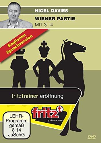 Preisvergleich Produktbild Wiener Partie mit 3. f4: Video Schachtraining - englische Sprachversion!