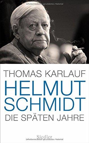 Buchseite und Rezensionen zu 'Helmut Schmidt: Die späten Jahre' von Thomas Karlauf