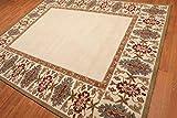 New (152x244cm) marquise naturale fatto a mano tappeto tradizionale orientale in moquette e tappeti
