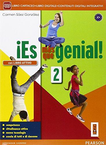 ¡Es mas que genialLIM. Per la Scuola media! Con e-book. Con espansione online. Con libro: 2
