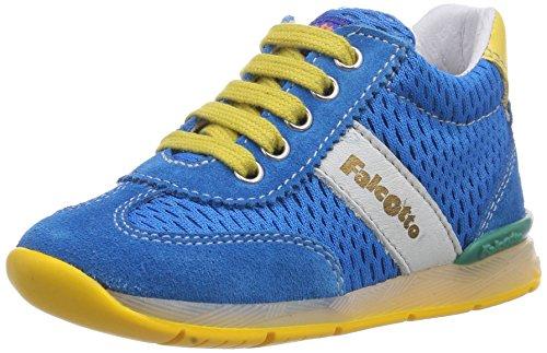 Naturino  FALCOTTO ANDY, {Chaussures premiers pas pour bébé (garçon) Multicolore - Mehrfarbig (SKY-GIALLO)