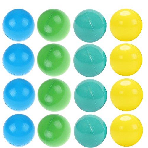 playz 200Special Edition weicher Kunststoff Spielen Bälle–Crush Proof, Ohne scharfe Kanten, nicht giftig, Phthalate und BPA-frei–Verwendung in Baby oder Kleinkind Ball Pit, spielen Zelte & Tunnels für Indoor & Outdoor