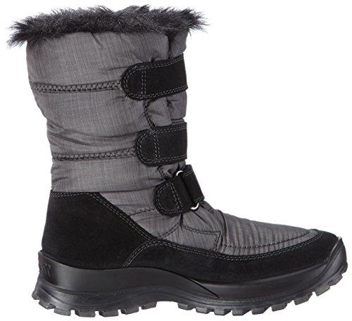 ROMIKA Alaska 120, Bottes de neige de hauteur moyenne, doublure chaude femme Noir - Noir