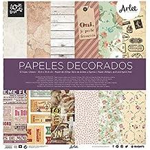 papel scrapbooking Arlet 30,5x30,5