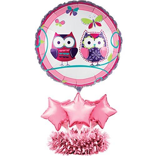 Creative Converting Ballon Mittelpunkt Kit violett/pink