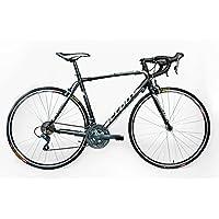 CLOOT - Bicicletas de Carretera - Ciclismo Ruta - Speed Race WH Shimano Claris Grupo Completo de 24 velocidades, Aluminio Triple Butted, Frenos Claris, Llantas Mach 1 700.