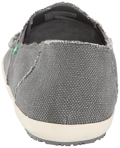 Sanuk Uomo Rounder Hobo Marrone Scuro Slip-on scarpe Charcoal