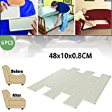 Dedeka Paneles para Sofá,Furniture Fix 6 Laminas Paneles para Arreglar Sofa HUNDIDO en Rebaja