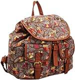 SwankySwans Girl's Barrita Owl Backpack