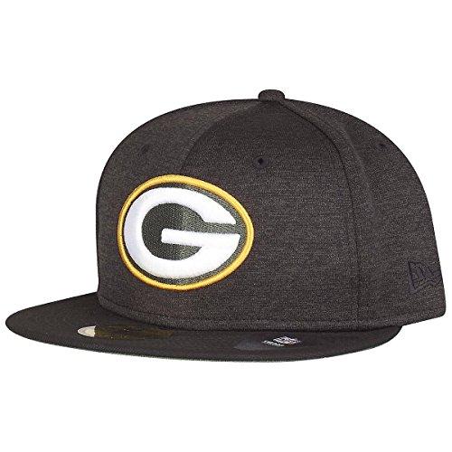 7 1/4 Ausgestattet Cap Hut (New Era Kappe 59FIFTY NFL Shadow Tech Green Bay Packers 7 1/4)