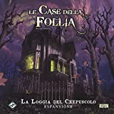 LE CASE DELLA FOLLIA : LA LOGGIA DEL CREPUSCOLO Espansione Gioco da Tavolo in Italiano