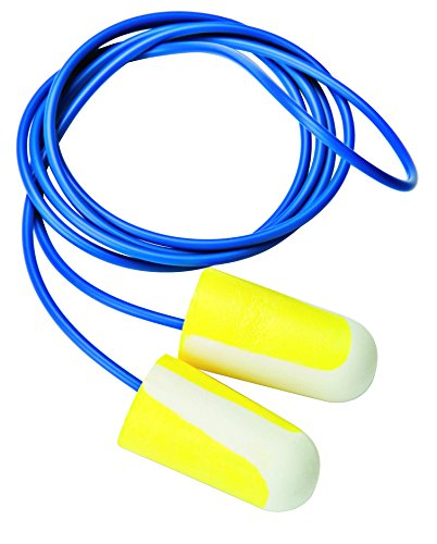 Honeywell Bilsom 304L Polyurethane Corded Foam Earplug, Set of 5