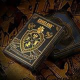YY-Tarot YY-Tarot Kartenspiel Wasserdichter Kunststoff Schwarz Spielkarten Pokerkarten Classic Magic Cards Tricks Tool