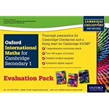 Complete Mathematics For Cambridge Secondary 1- Evaluation Pack: For Cambridge Checkpoint and beyond by Deborah Barton (2014-11-01)