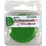 1 Rollbandmaß Schneidermaßband grün 150 cm / 60 Zoll, im SB Blister, 0091