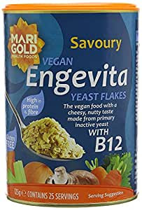 (Pack Of 8) - Engevita Yeast Flakes With Vitamin B12 | MARIGOLD HEALTH FOODS