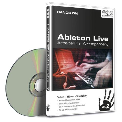 Hands on Ableton Live Vol.2 – Arbeiten im Arrangement (PC+MAC)