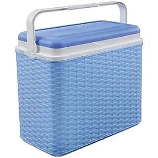 AK Sport Kühlbox 10 L Rattan Coolbox, Blau, One Size