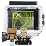 atFoliX Displayschutz für IceFox Action Cam 4k I5 Spiegelfolie - FX-Mirror Folie mit Spiegeleffekt