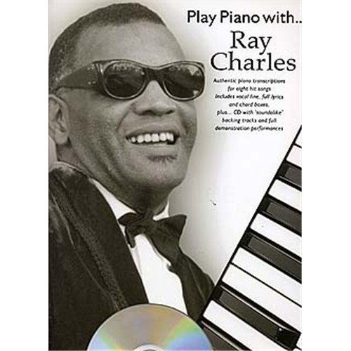 Play Piano With... Ray Charles. Partitions, CD pour Piano, Chant et Guitare(Boîtes d'Accord)