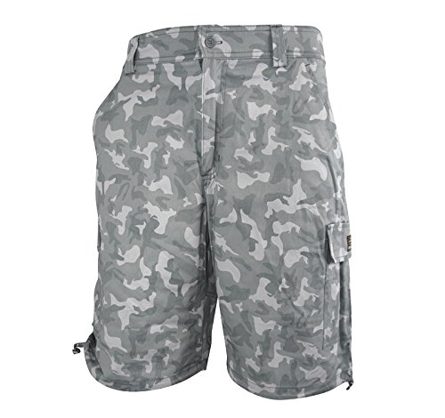 Men's Premium Quality Camo Eddy Casual Shorts with 90 Day