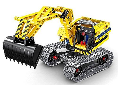 Modbrix Technic Bagger Bausteine Raupenbagger 342 Teile, Kompatibel mit L*GO Technik thumbnail