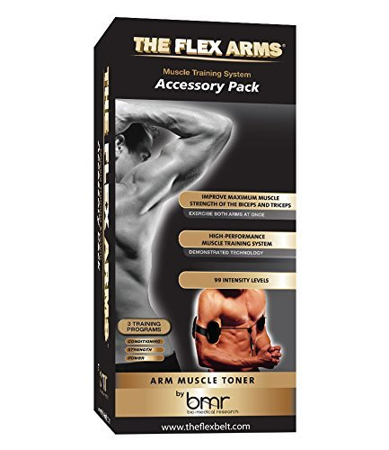 The Flex Arms Accessory Pack–Bicep and Tricep muscolo Toner (Requires The Flex Belt Controller–Sold seperately) by the Flex Belt