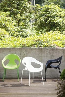 Jan Kurtz - Stuhl Sunny - schwarz - Design - Gartenstuhl - Terrassenstuhl von Jan Kurtz - Gartenmöbel von Du und Dein Garten