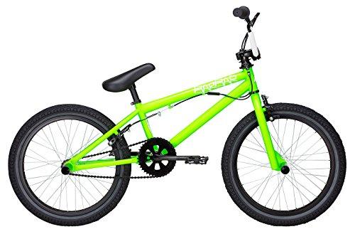 Bulls BMX Rad Barbar (2017) - 20 Zoll 1K, Singlespeed, Fahrrad Bike Rad - grün