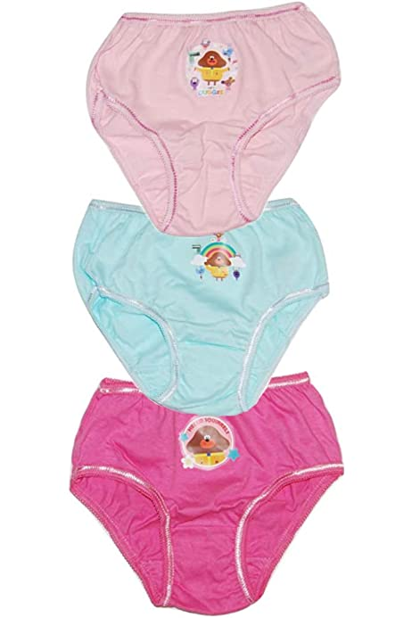 Auranso Girls Underwear Cute Cat Print Toddler Girls Briefs Knickers 5 Pack Cotton Hipster Panties Kids Underpants 2-9 Years