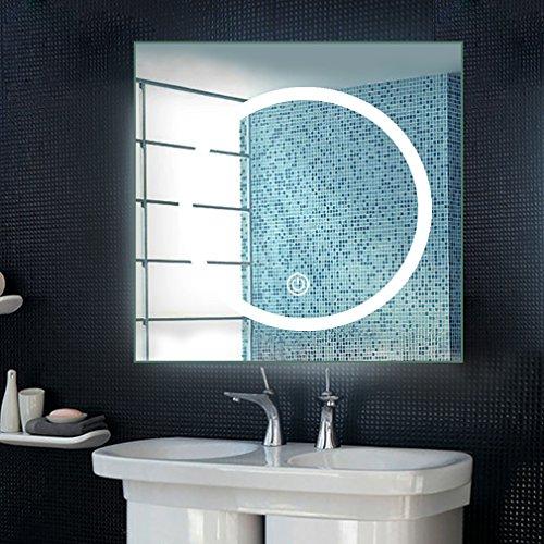 Preisvergleich Produktbild Anten® 18W 6000K IP65 LED Badspiegel Wandspiegel Lichtspiegel 80 cm x 80 cm