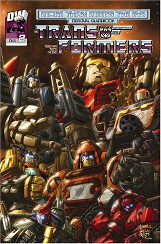 Transformers Generation One: More Than Meets The Eye Official Guidebook