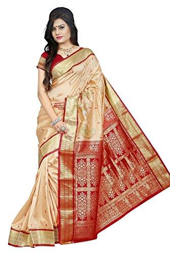 JagannathSaree Latest Design Assam Art Silk Traditional Saree with Blouse Piece New...