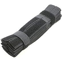 pasow 50pcs colorido reutilizable de sujeción de cable de alambre Corbatas organizador Cable Tie Soporte de cuerda para PC portátil