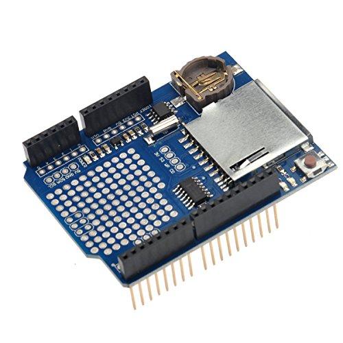 WINOMO Dati di registrazione modulo di scudo registratore dati Logger v 1.0 per Arduino UNO SD Card