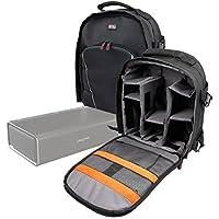 Duragadget Sac à Dos de Transport Noir pour Creative Nuno Micro/Nuno, Sound Blaster Roar 2 & Roar Pro Enceintes Portables, par